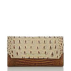 Soft Checkbook Wallet<br>Brulee Soleil