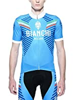 BIANCHI MILANO Maillot Ciclismo Mazzarino (Azul)