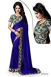 Atmiya ethnic wear chiffon saree