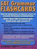 SAT Grammar Flashcards