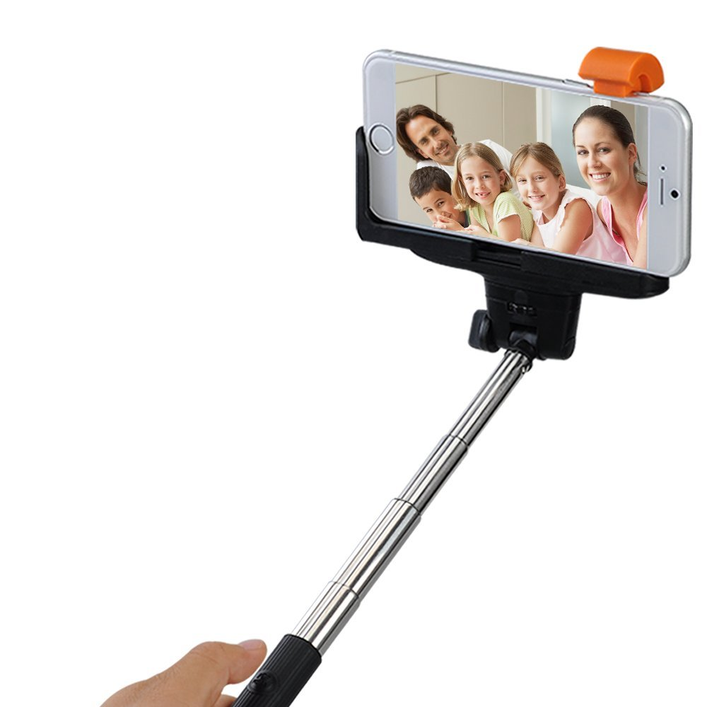mpow extendable selfie stick reg. Black Bedroom Furniture Sets. Home Design Ideas