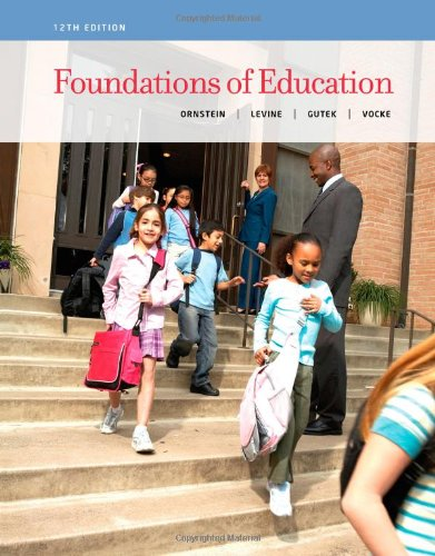 Foundations Of Education front-75898
