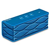 Sentey® Bluetooth Speaker B-Trek S4 (BLUE) up 6 hours of play time - Built-in Mic for Handsfree - 10 Meter - 33 Foot Range - Rechargeable Lithium Ion Battery - Wireless - AUX Line in & Line out allows Music Playback From Various Sources / Works with iPhone, iPad Mini, iPad 4/3/2, iTouch, Blackberry, Nexus, Samsung and Other Smart Phones and MP3 Players