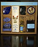 Auroshikha Jasmine Classic Collection Of Incense Sticks , Scented Candle ,Essential Oil , Leaf Shaped Stand , Perfumed Sachet And Dhoop Cones