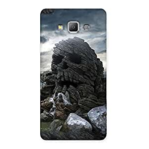 Cute Skull Rock Back Case Cover for Galaxy A7