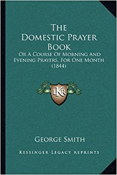 Morning and evening prayers book