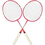Guru Toy Magic BS03 Pack Of Two Racket Badminton Set Size, 24 Inch With Cover