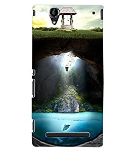 ColourCraft Creative Image Design Back Case Cover for SONY XPERIA T2 ULTRA DUAL D5322