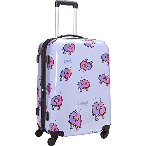 ed-heck-multi-love-birds-hardside-spinner-luggage-25-inch-light-purple-one-size