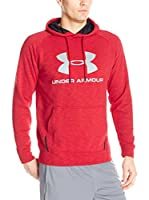 Under Armour Sudadera con Capucha Sportstyle Triblend P/O (Rojo)