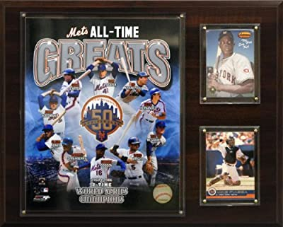 MLB New York Mets All -Time Great Photo Plaque