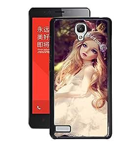 Fuson 2D Printed Cute Doll Designer Back Case Cover for Xiaomi Redmi Note 4G - D739