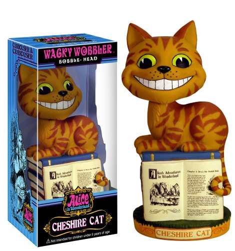 FUNKO Bobble Head Alice in Wonderland Cheshire Cat Figurine