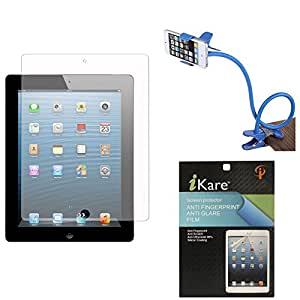 iKare Pack of 10 Matte Screen Protector for Samsung Galaxy Tab 2 P3100 + Flexible Sturdy Long Stand