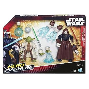 Hasbro Star Wars Hero Mashers Yoda vs. Imperator Palpatine B3830 günstig online kaufen