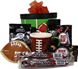 Get in the Endzone Gift Box - Father's Day Gift Basket Idea! Birthday or Get Well Gift