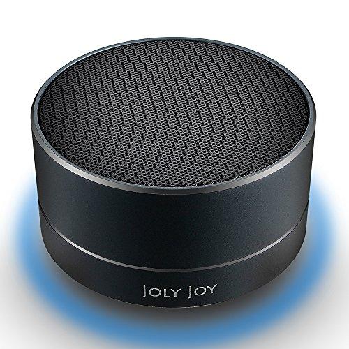 Joly Joy®Bluetoothスピーカー ワイヤレス ポータブル音楽プラーヤー 高音質 ステレオ A2DP対応 マイク内蔵 省エネ (鈍色)