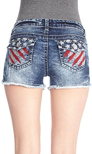 WallFlower Juniors Americana Short Shorts the wallflower 28