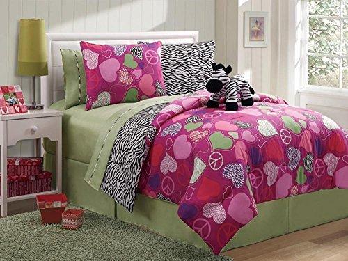 Reversible Zebra Bed In A Bag Multi-Color - Full front-27899
