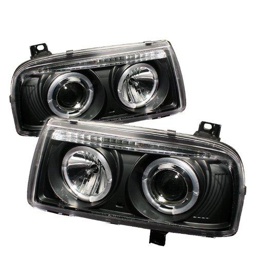 Spyder Auto Volkswagen Jetta Iii Black Halogen Projector Headlight