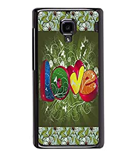PrintVisa Metal Printed Love Designer Back Case Cover for Xiaomi Redmi 1S-D4732