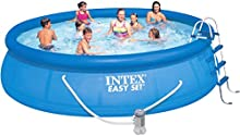 Intex Easy Set - Piscina, 457 x 107 cm, con depuradora  (filtro tipo A)