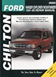 Ford Ranger, Explorer, and Mountainer, 1991-99 (Chiltons Total Car Care Repair Manuals)