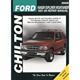 Chilton's Ford Ranger/Explorer/Mountaineer 1991-99 Repair Manualpar Chilton Publishing