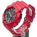 Casio GA100B-4A G-Shock X-Large Red World Time Analog digital Watch