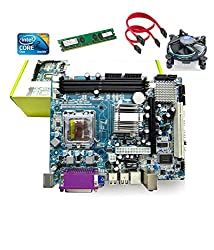 Zebronics Motherboard Kit with 2.4Ghz Intel Core2 Duo CPU, 1GB DDR2 RAM & Intel CPU FAN