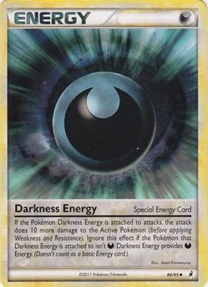 Pokemon - Darkness Energy (Special) (86/95) - Call Of Legends (Darkness Energy compare prices)
