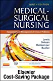 img - for Medical-Surgical Nursing - Single-Volume Text and Elsevier Adaptive Quizzing Package, 9e book / textbook / text book