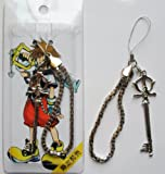 "3"" Kingdom Hearts Metal Key Blade Phone Charm Strap #1 ~Cosplay~"