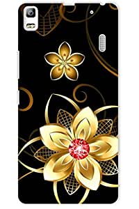 IndiaRangDe Printed Back Cover For Lenovo A7000 Multicolor