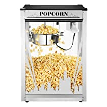 Great Northern Popcorn Skyline Antique Style Popcorn Popper Machine with 8-Ounce Kettle