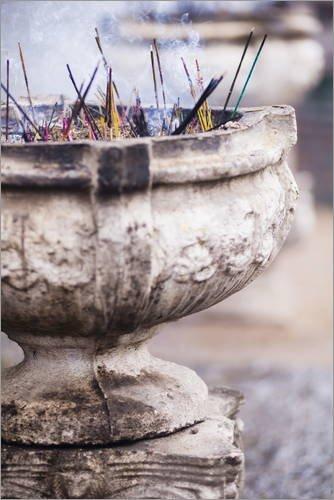 poster-80-x-120-cm-incense-at-sri-maha-bodhi-mahavihara-the-great-monastery-anuradhapura-sri-lanka-a