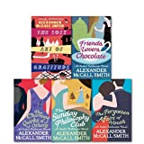 Alexander McCall Smith An Isabel Dalhousie Novel Collection 5 Books Pack (The Forgotten Affair's youth, The Charming Quirks of others, The Lost art of Gratitude, The Sunday Philosophy Club & Friends, Lovers, Chocolate) Alexander McCall Smith