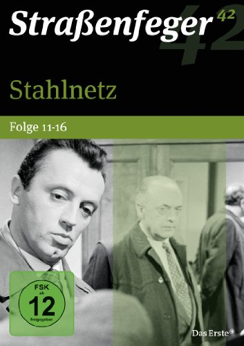 Straßenfeger 42 - Stahlnetz / Folge 11-16 [4 DVDs]