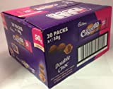 Cadbury Crispello Double Chocolate Bar 30 g (Pack of 20)