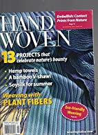 Handwoven Magazine, March/April 2012 by…