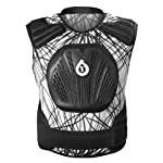 SixSixOne Core Saver Wired Articulating Armor (White/Black, Large/X-Large)