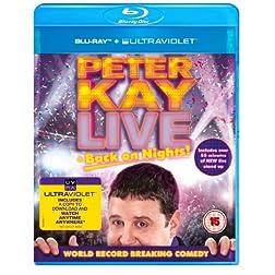Live Back on Nights [Blu-ray]