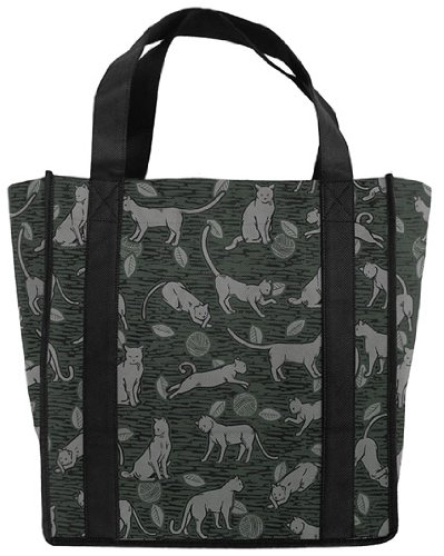 Cats CAT GROCERY BAGS - DESIGNER LOOK - TOP Rated Reusable GROCERY BAG
