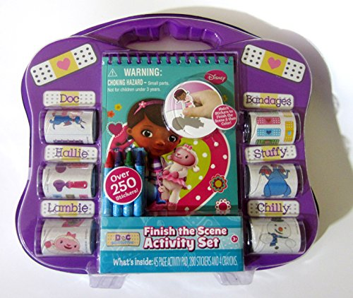Doc McStuffins Activity Set Finish The Scene Stickers - 1