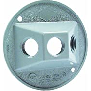 Hubbell 5948-1 Do it Weatherproof Electrical Cover-GRAY OUTDOOR ROUND COVER