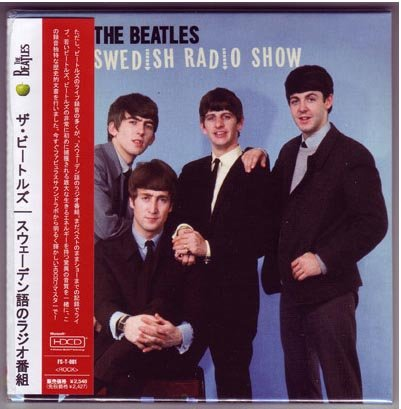 The Beatles - Swedish Radio Show - Audio Cd MLPS [Mini Long Play Sleeve] Japanese Mini-LP Replica Audio CD OBI by The Beatles