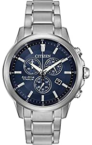 Citizen Men's AT2340-56L Titanium Analog Display Japanese