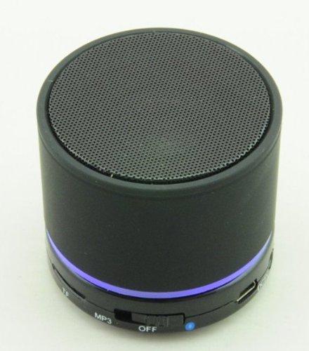 Aborn Mini Lightweight Portable Premium Sound Wireless Bluetooth Speaker 5.0 / Black
