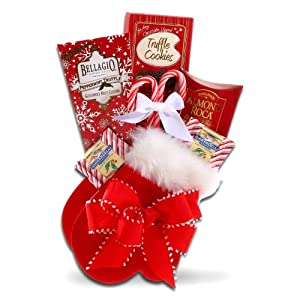 Mrs. Clause's Mitten of Sweets Christmas Gift Set