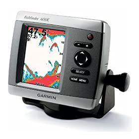 Garmin 400C Fish Finder with Dual Frequency Transducer